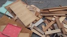 家具の解体 イメージ