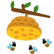 蜂の巣 イメージ