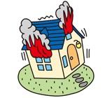 地震火災費用保険金 イメージ