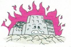 地震火災 イメージ