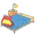家財の火災