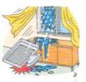 風災による家財の被害